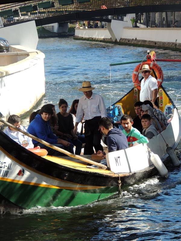 passeio barco aveiro